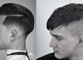 стильные стрижки с выбриванием для мужчин