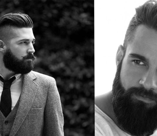 прически для мужчин с бородой