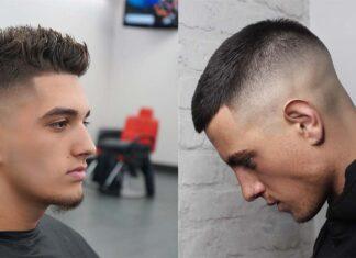 трендовые прически для парней с короткими волосами