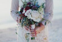 красивые и модные свадебные прически с фатой