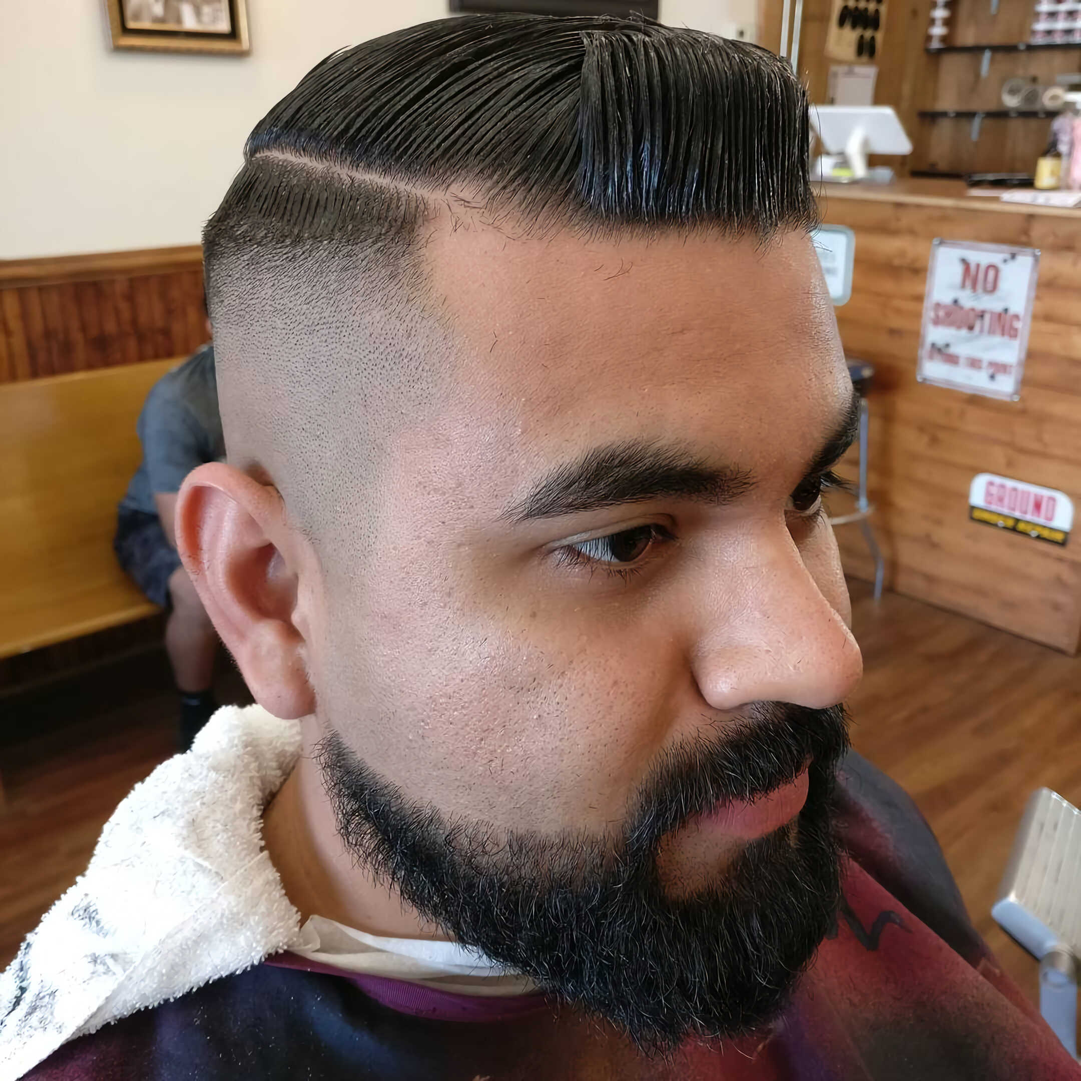 Fine Hard Part With High Fade