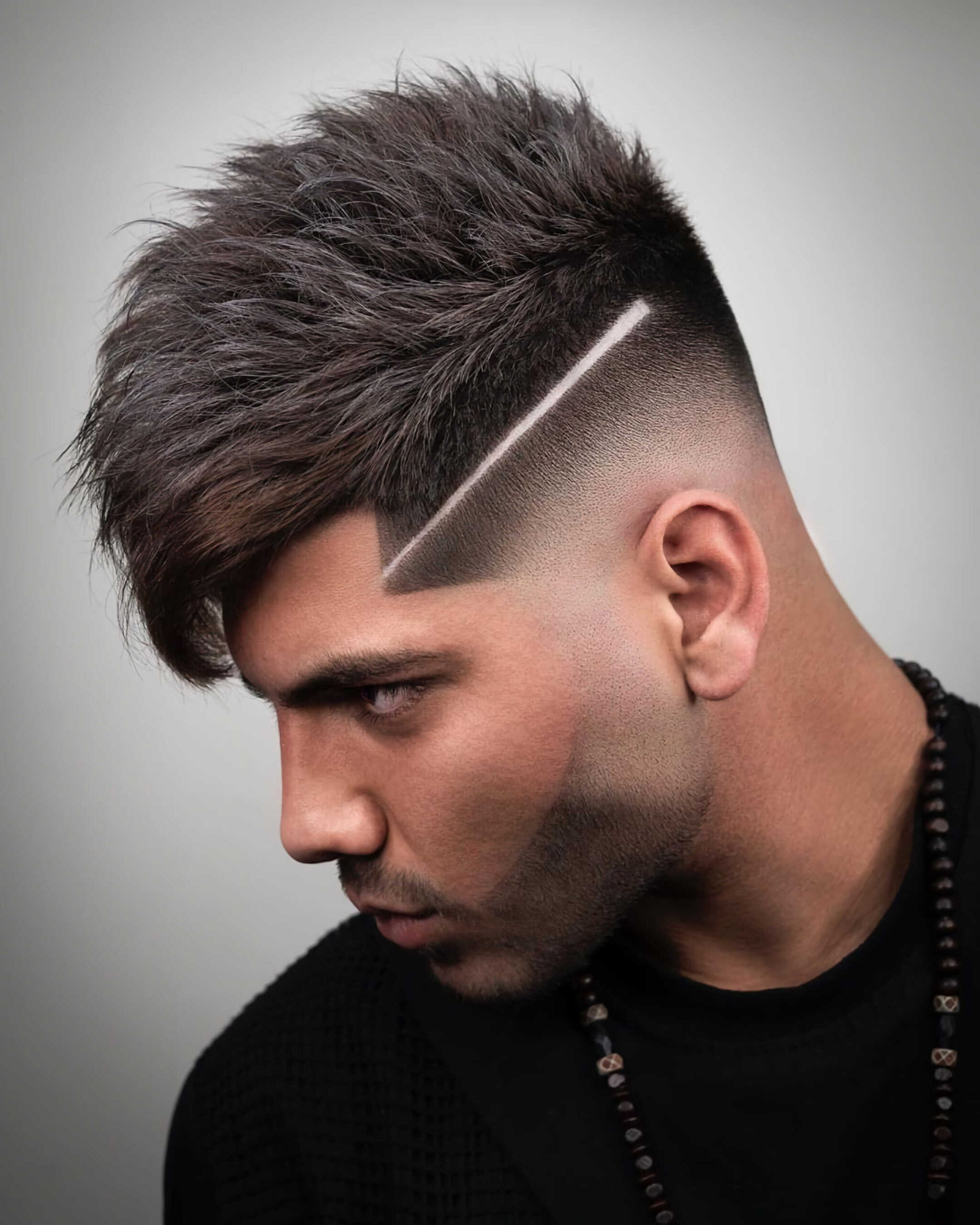 Undercut and Fade with Surgical Part