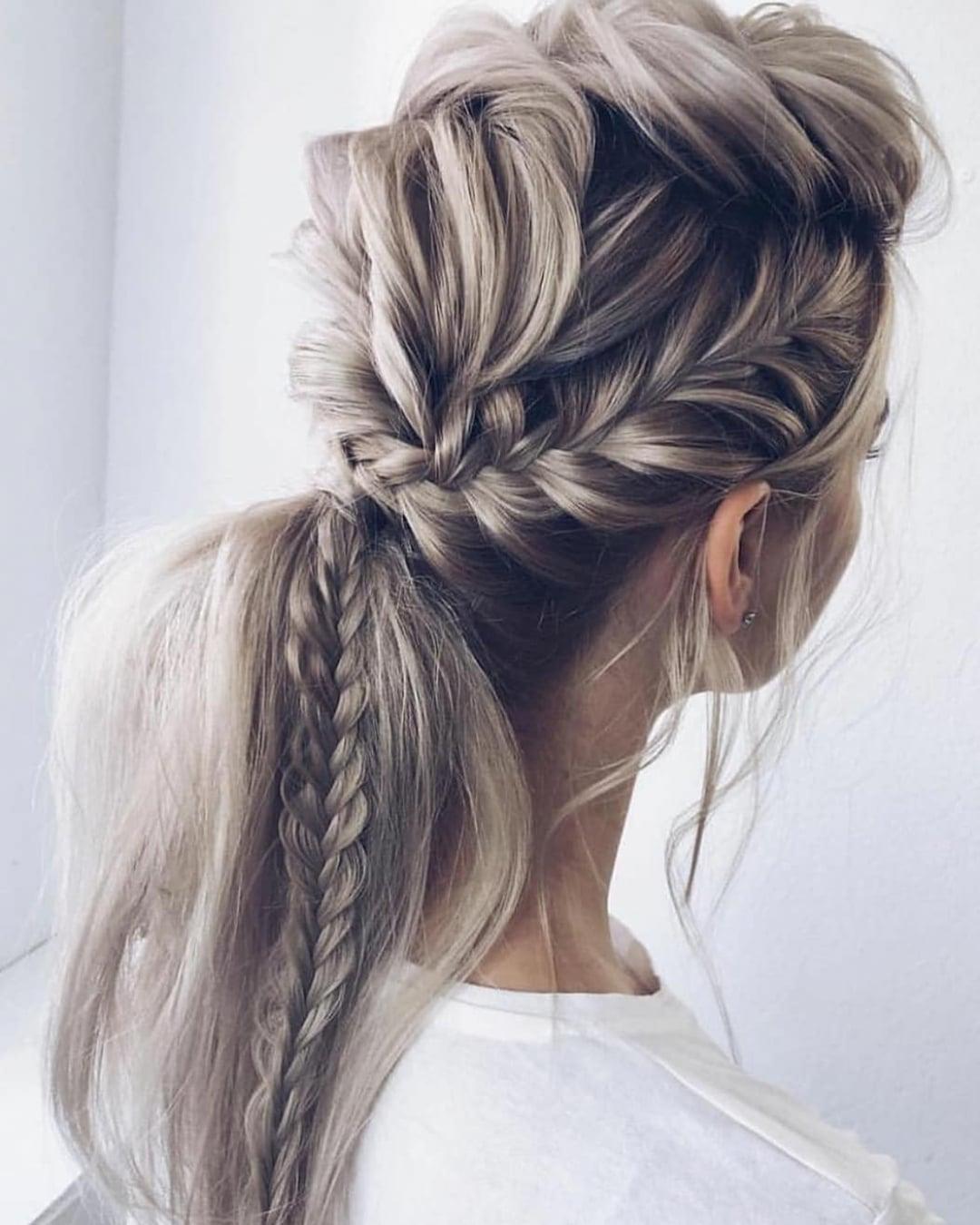 сучасні вечірні зачіски