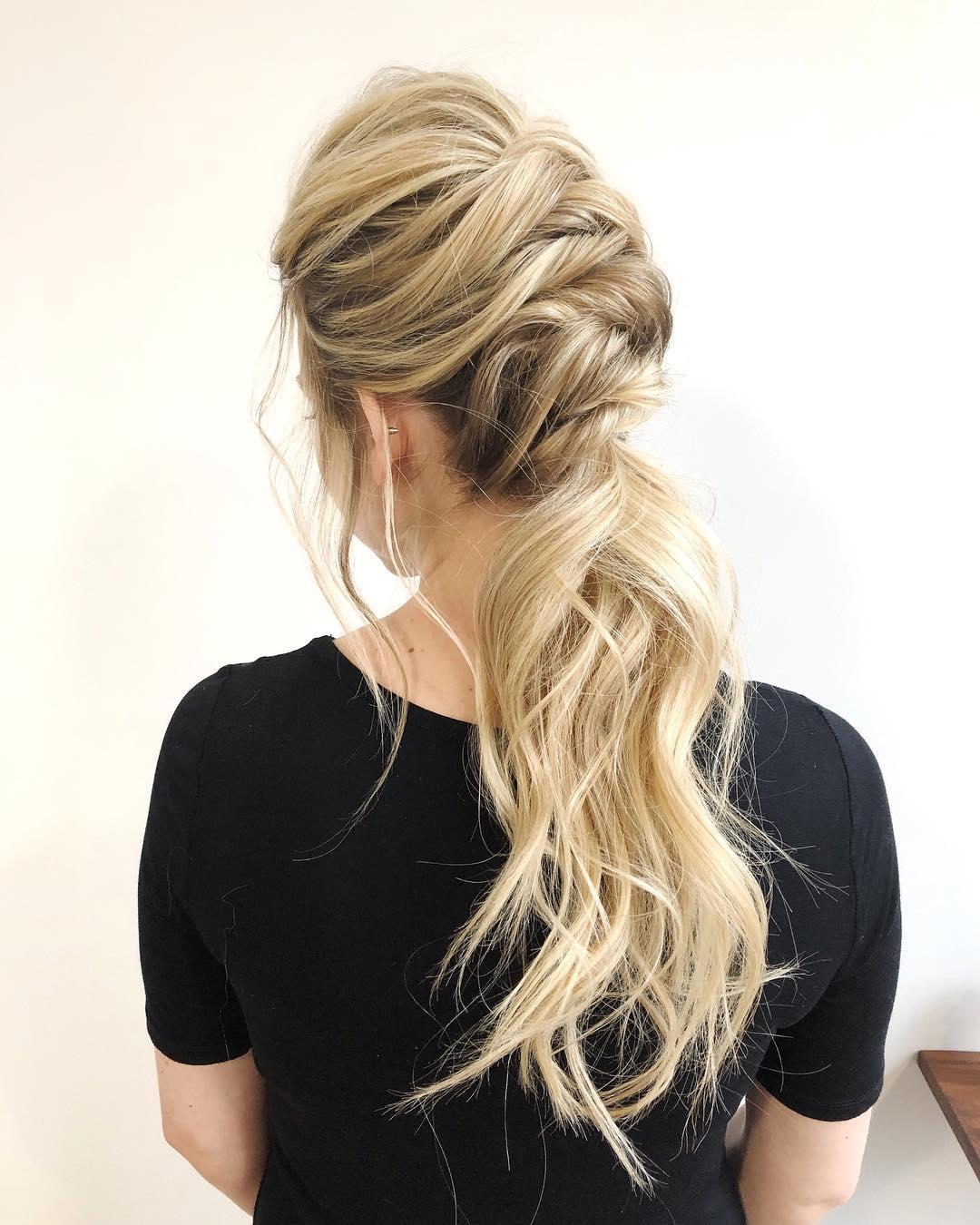 Сучасні ідеї вечірніх зачіско на довге волосся