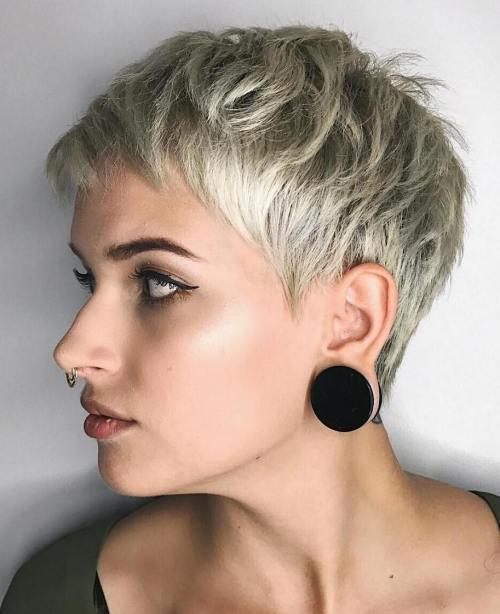 Стиль прически для тонких волос