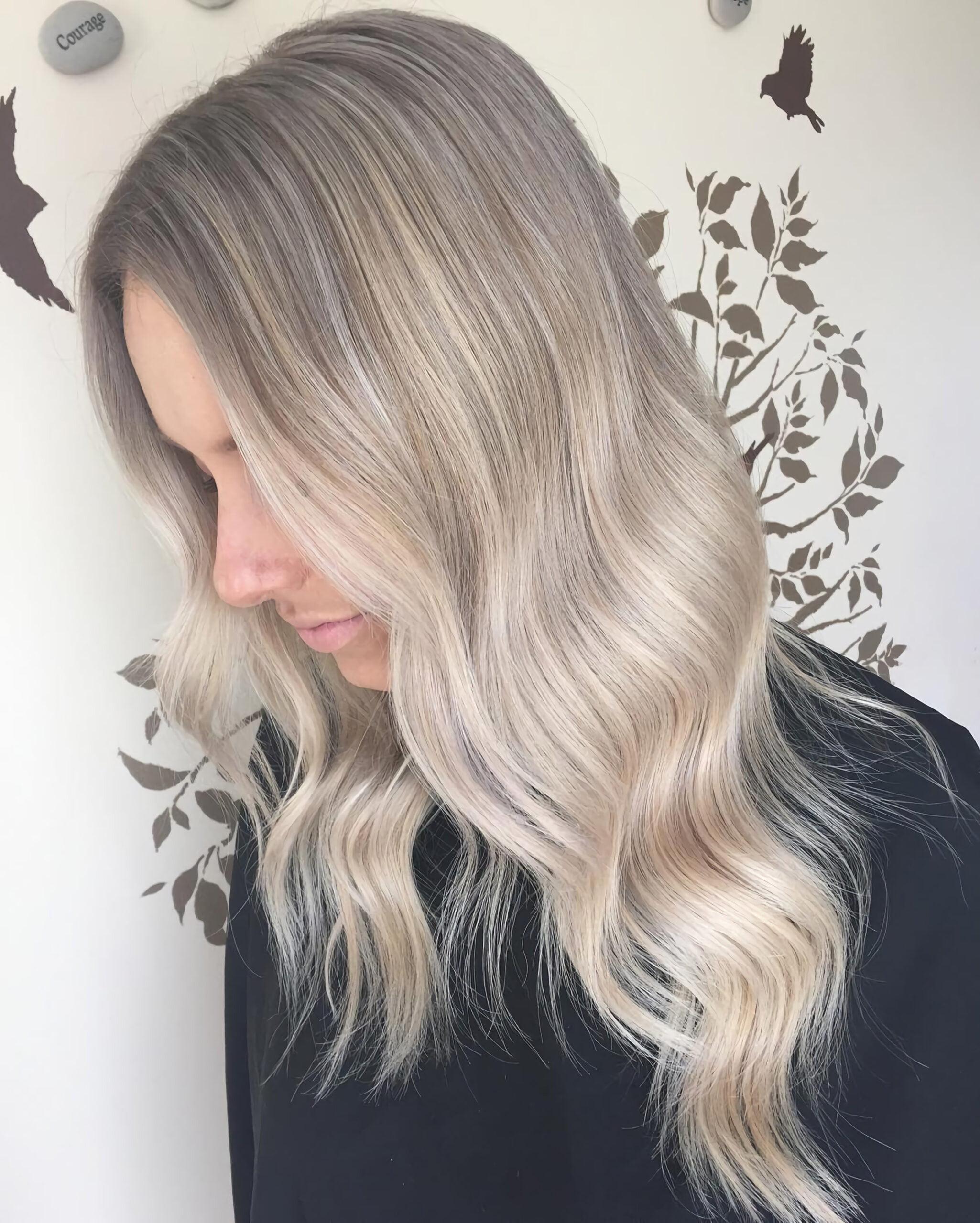 Ледяной пепельный блонд