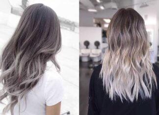 стильный пепельный блонд для девушек