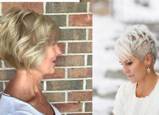лучшие омолаживающие прически для женщин старше 60 лет