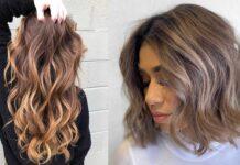 стильные каштановые волосы для девушек