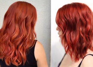 рыжие волосы - красивые и стильные идеи причесок