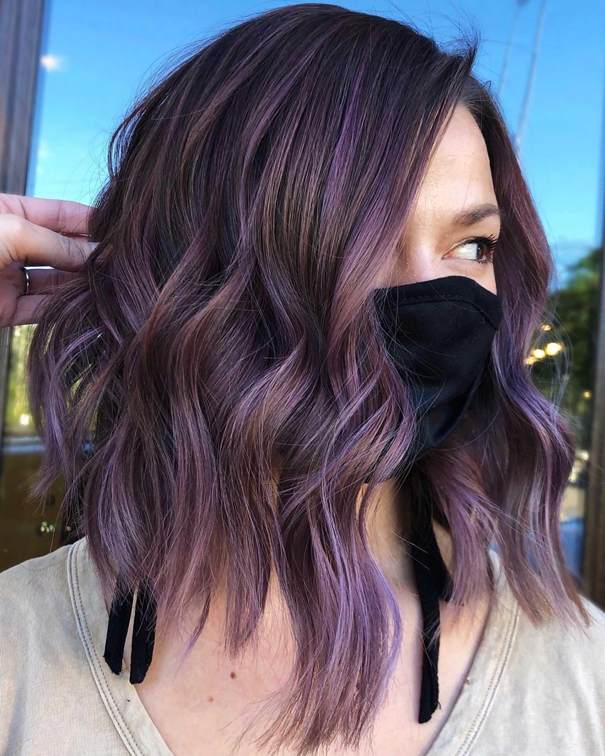красивое окрашивание волос балаяж