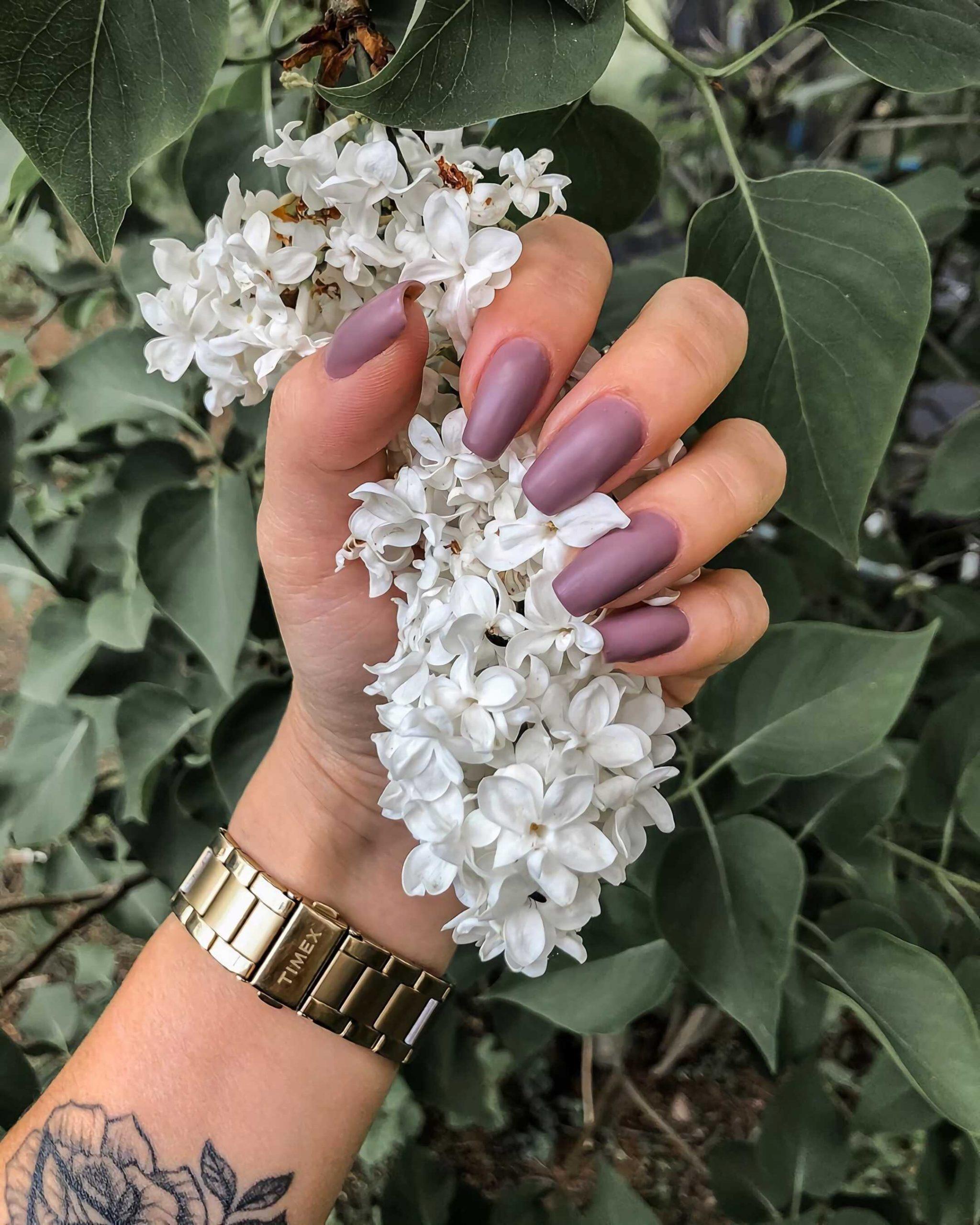 красивые пастельные ногти