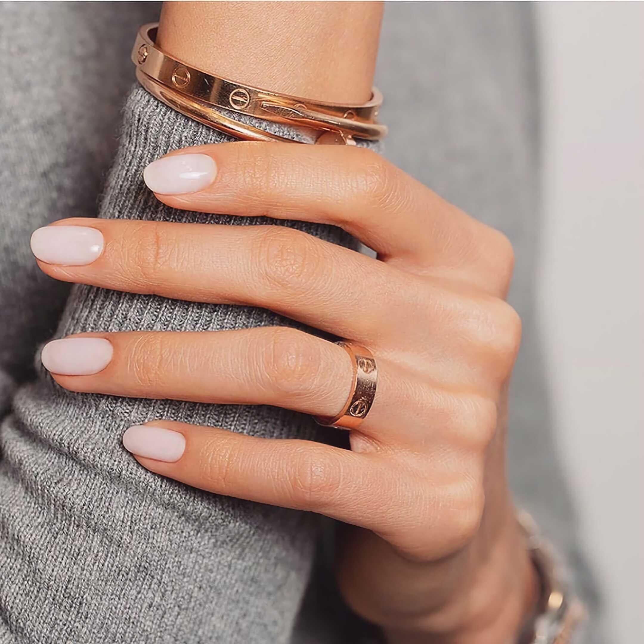 простые короткие ногти