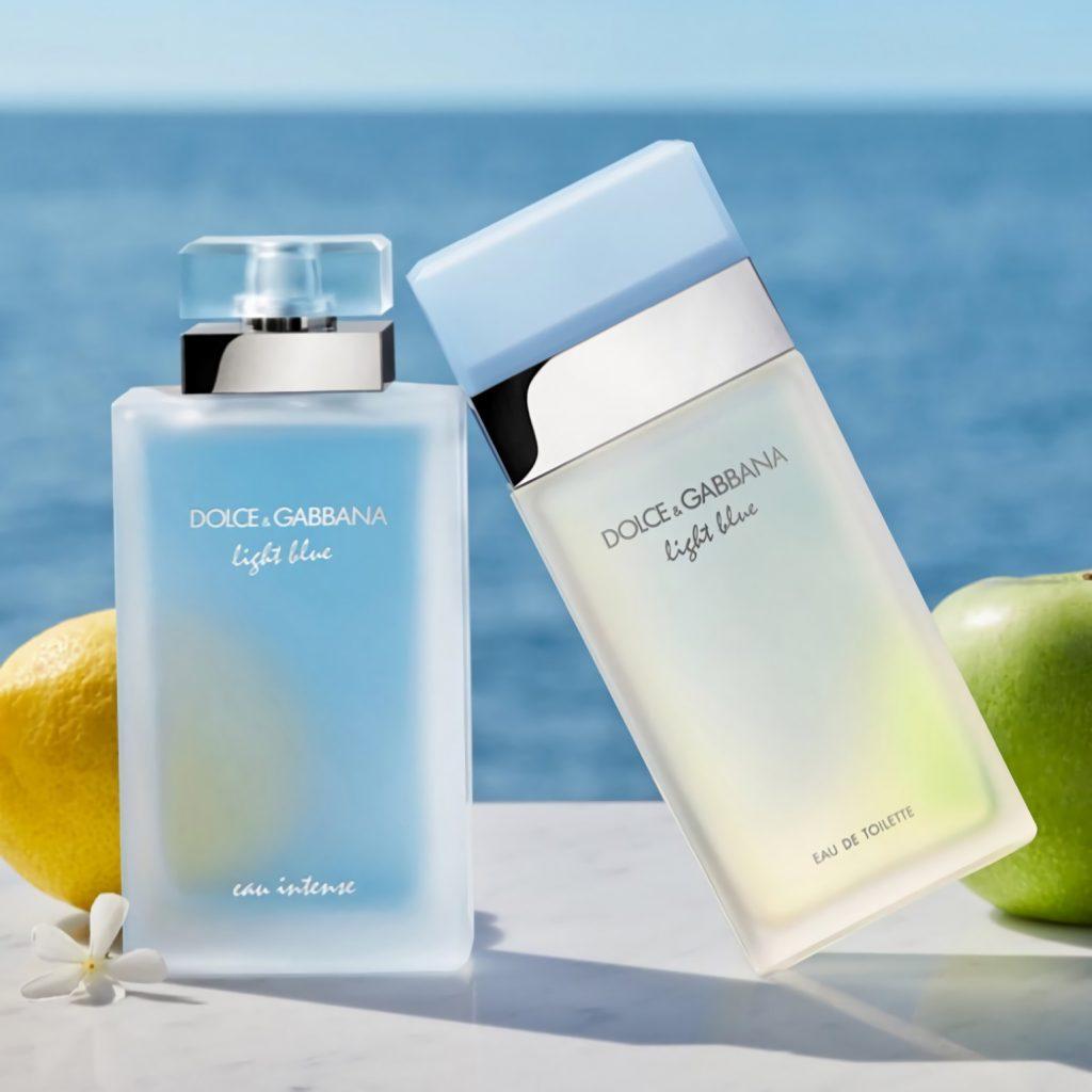 модный весенний парфюм для мужчин Dolce & Gabbana Light Blue Eau Intense