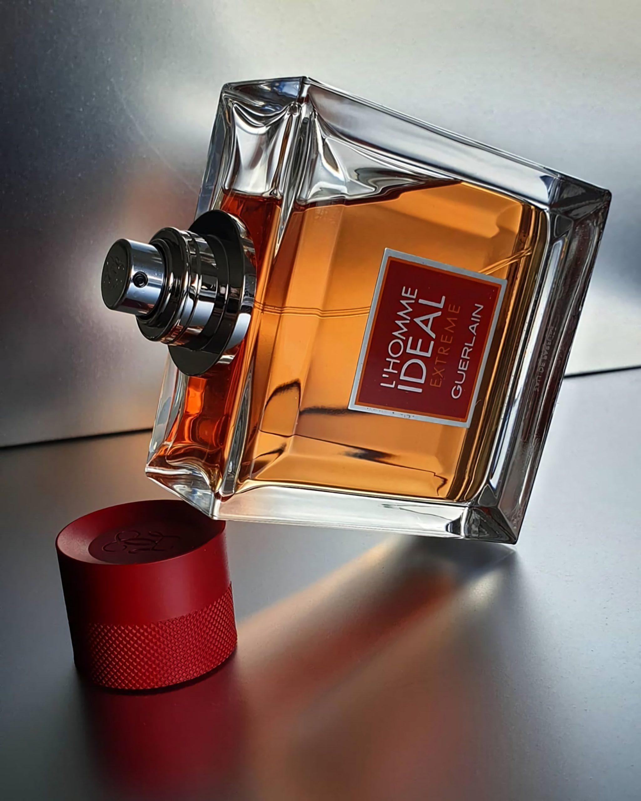 лучшие духи с ароматом миндаля и фруктов Guerlain l'Homme Ideal
