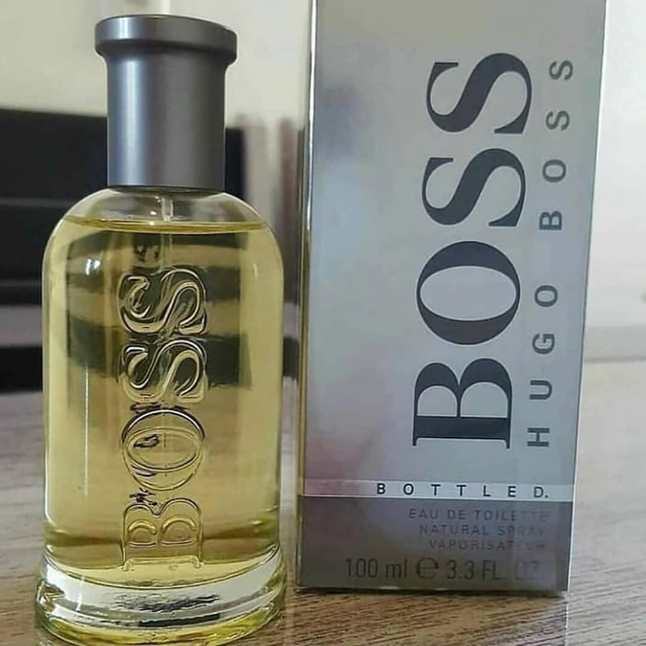 фантастические духи для мужчин Hugo Boss Bottled