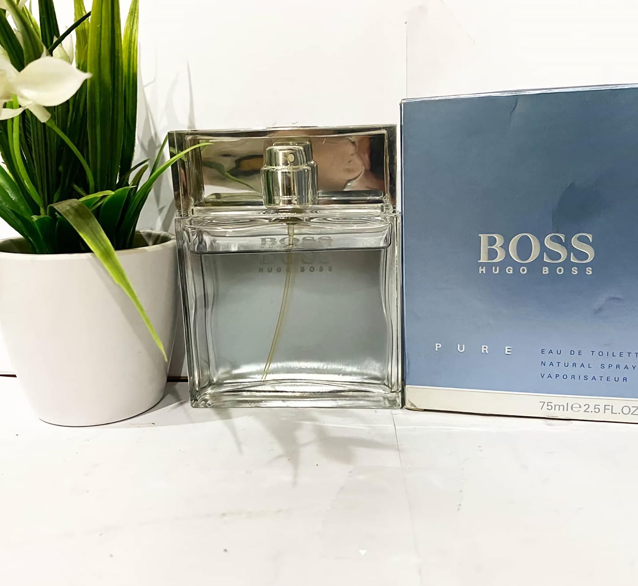 мужские духи со свежим запахом Hugo Boss Pure
