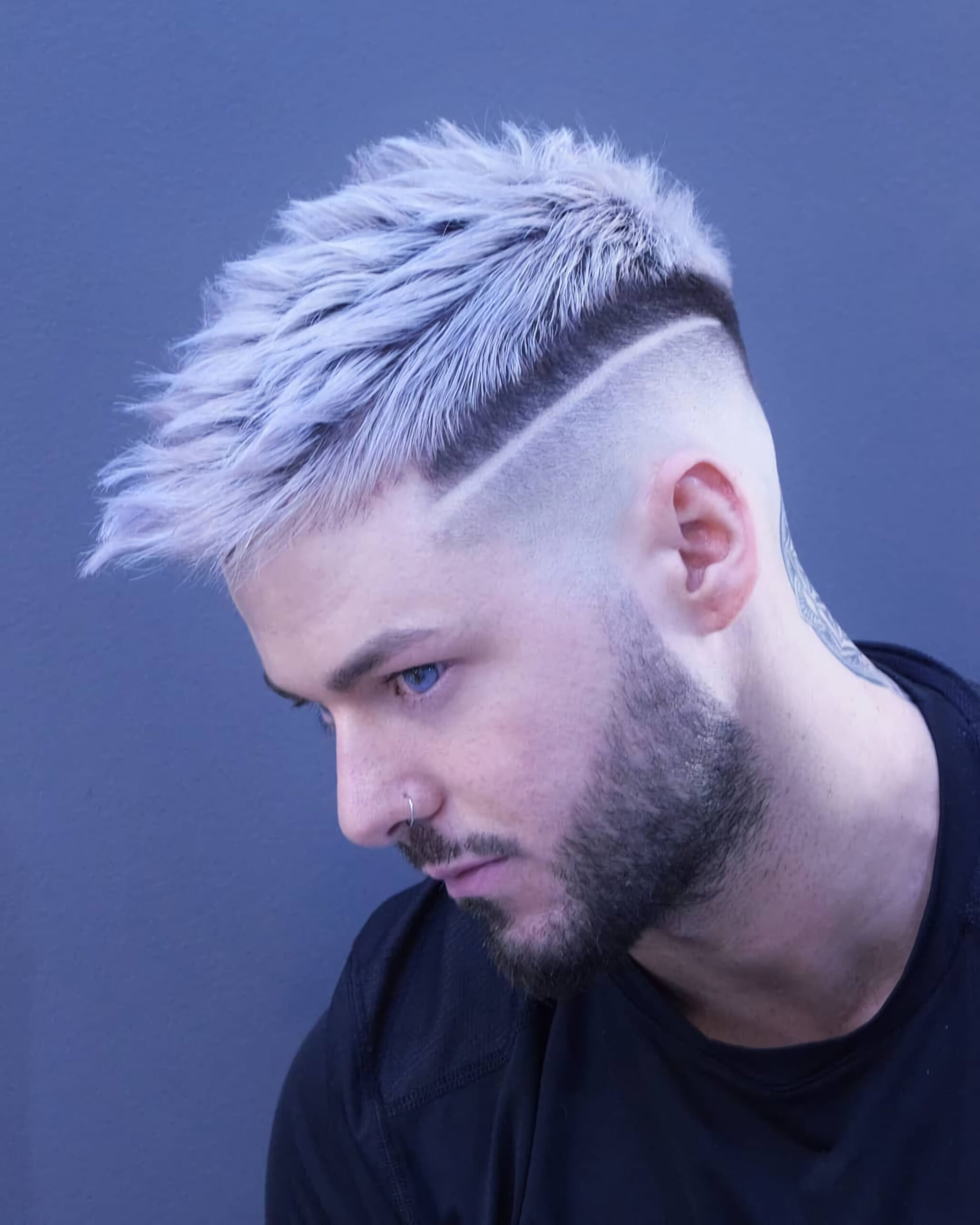 Мужская короткая стрижка для мужчин с тонкими волосами