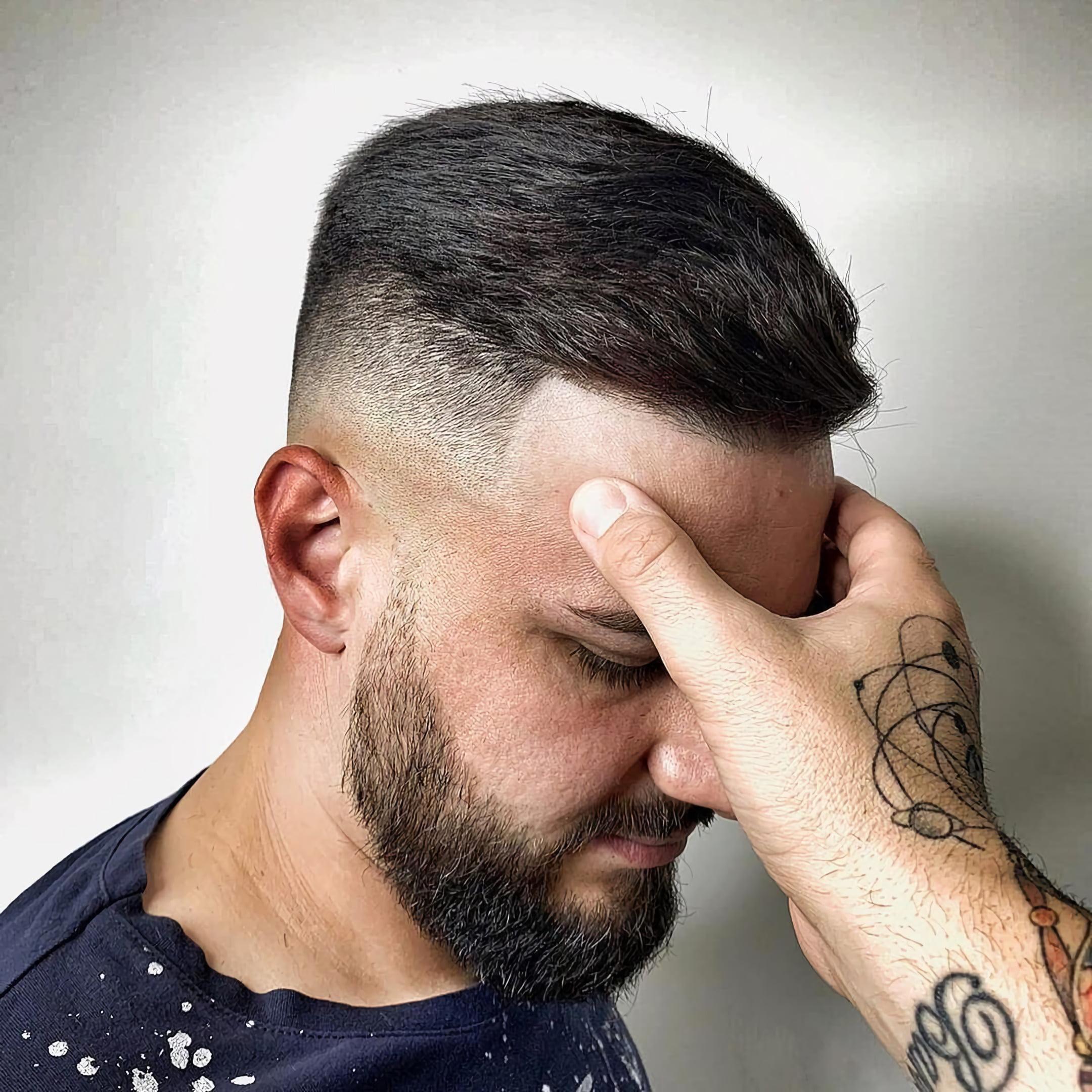Мужская короткая стрижка