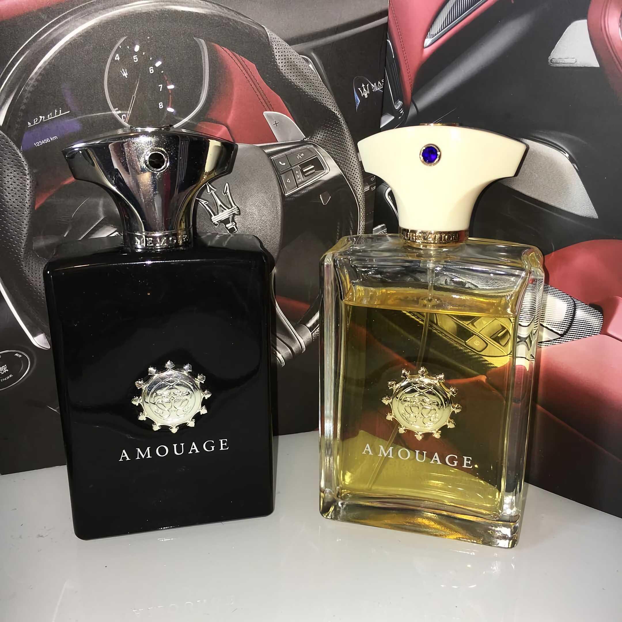 кожаный парфюм для мужчин Amouage Memoir Man