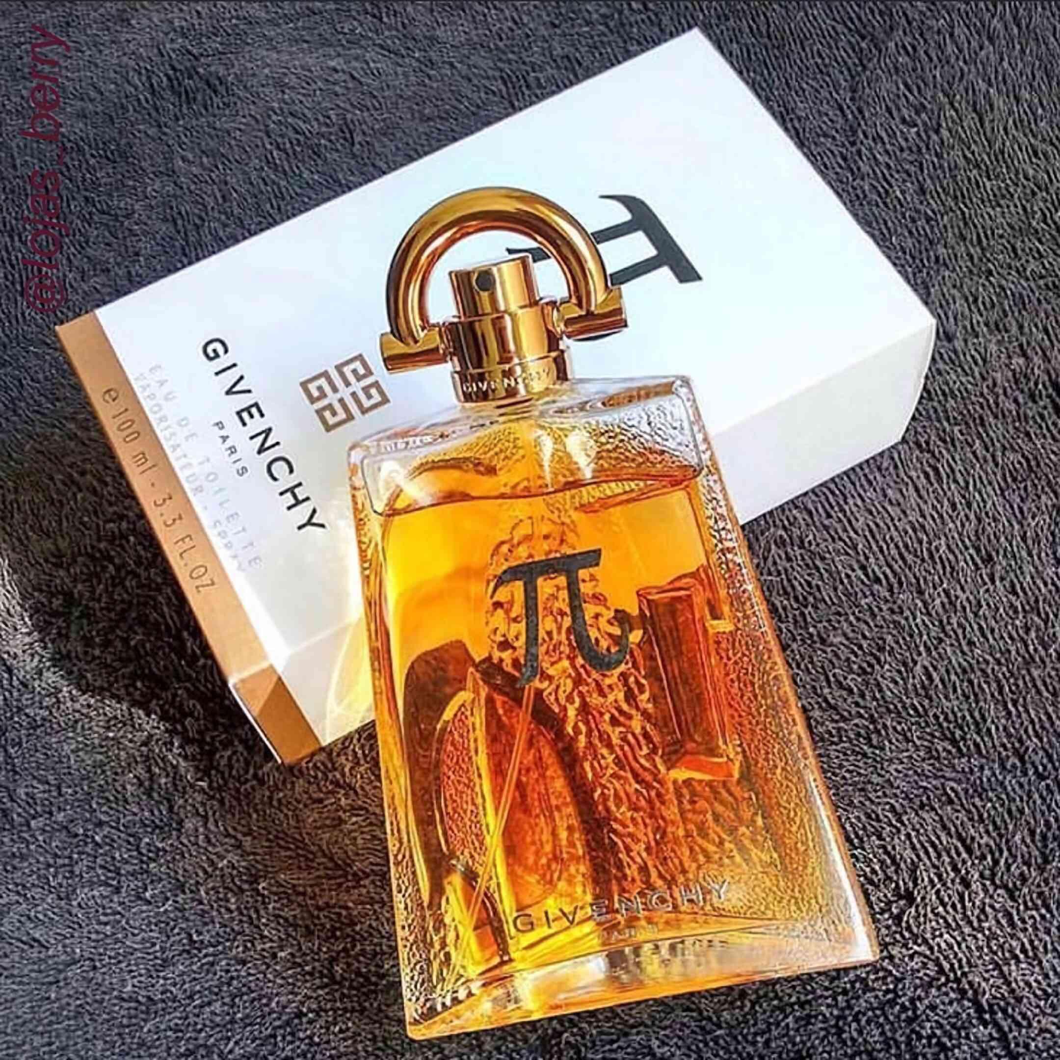 модные духи для мужчин с сладким запахом Givenchy Pi