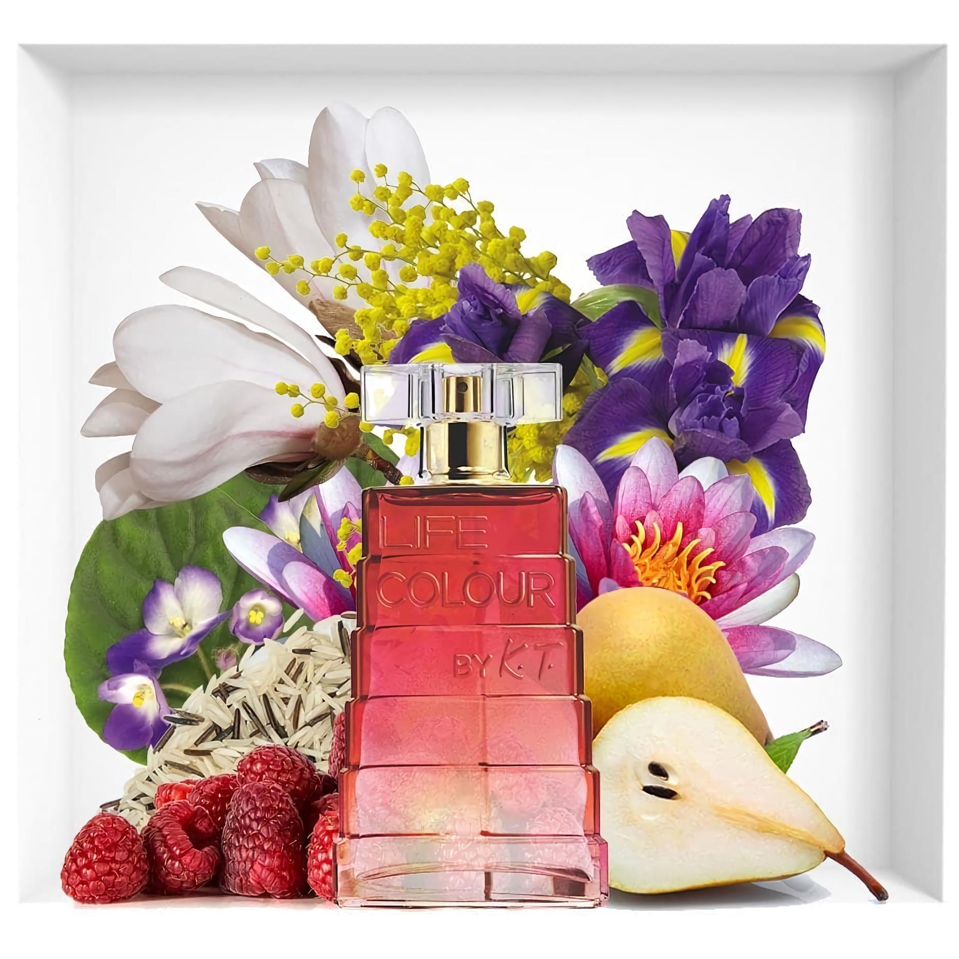 женские духи с игривым запахом Avon Life Colour by K.T