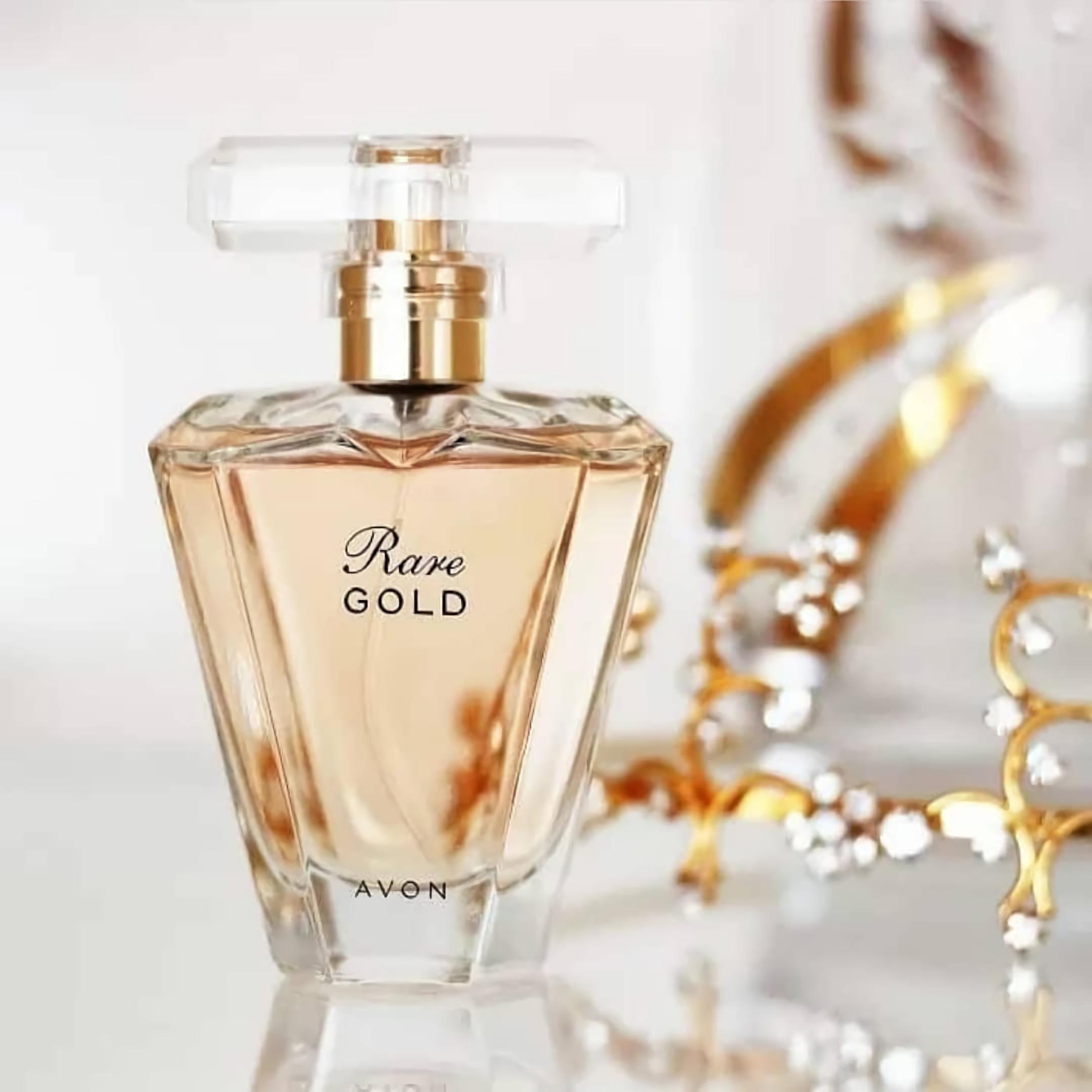 женский парфюм с мягким запахом Avon Rare Gold
