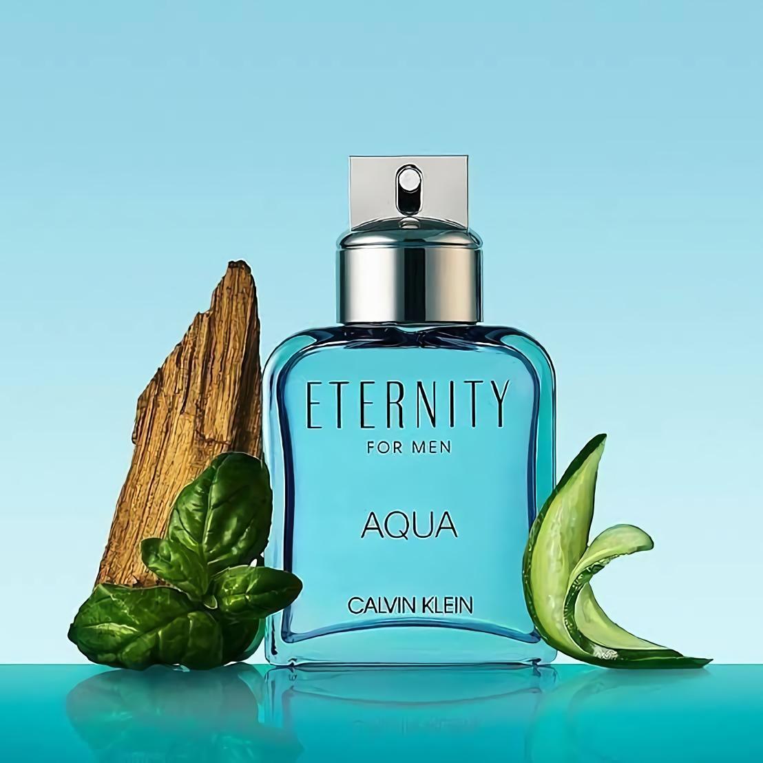 мужские духи с водным запахом Calvin Klein Eternity Aqua