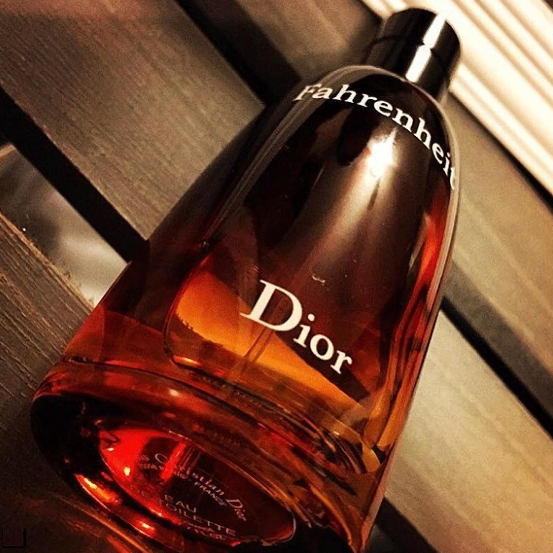 мужские духи с теплым запахом Dior Fahrenheit