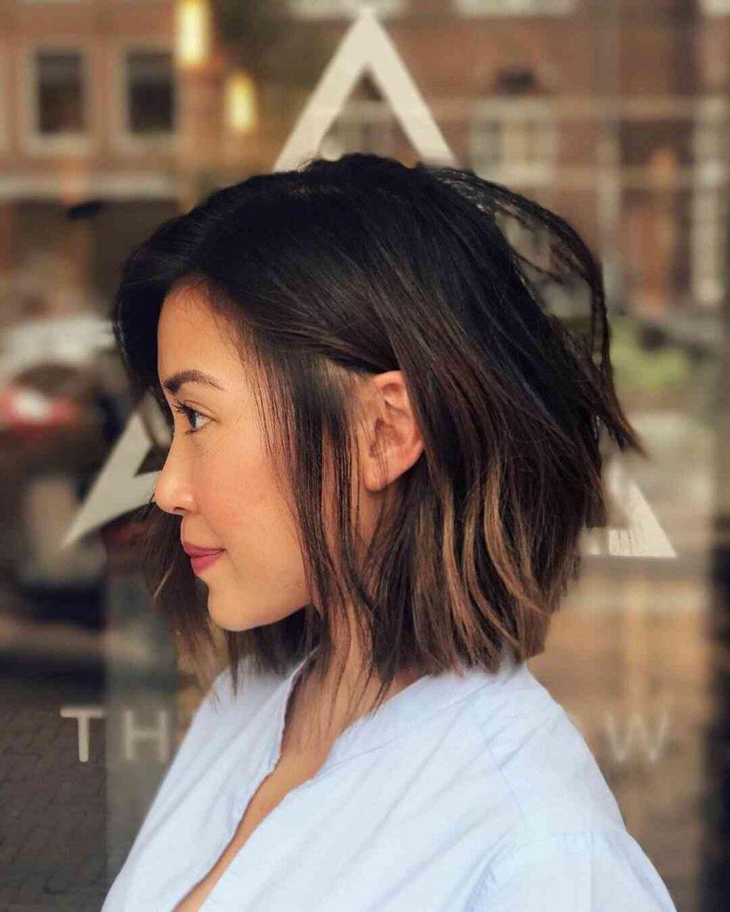 модний омбре для короткого волосся