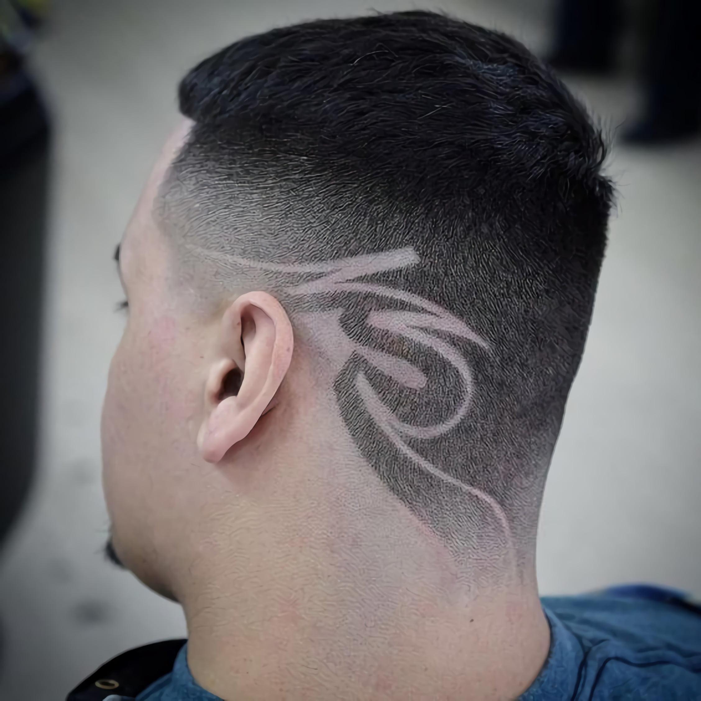 современный дизайн волос