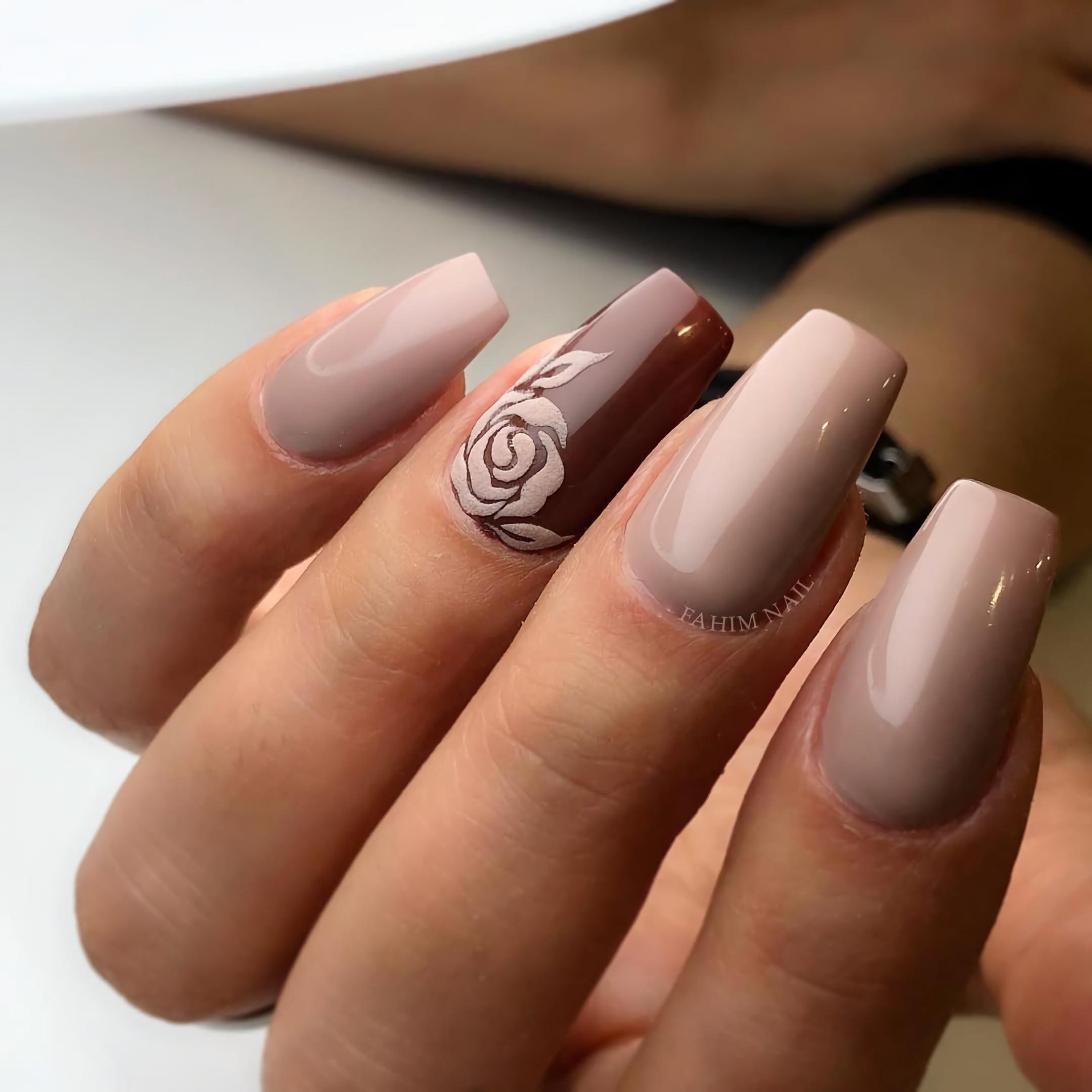 Контрастные цвета с розовым акцентом