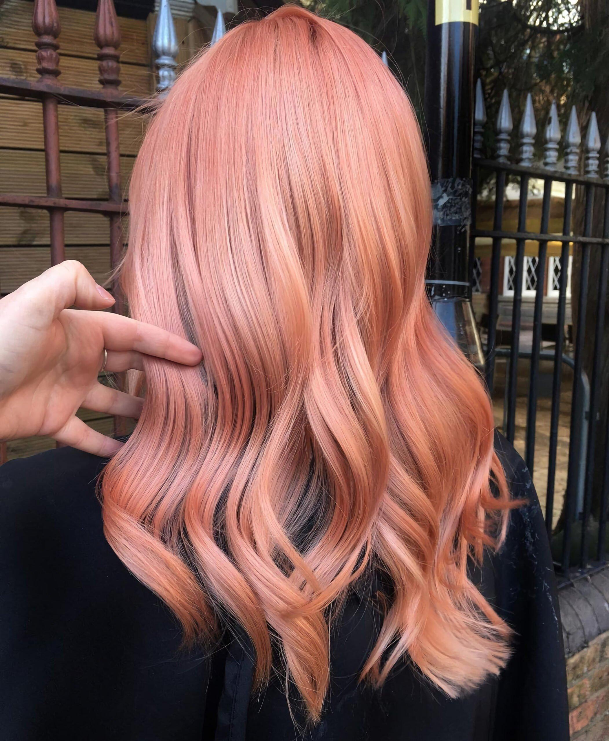 Персиковый блонд