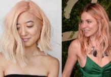 красивые идеи персиковых волос