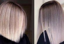 модное окрашивание волос шатуш